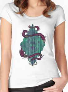 Death Crystal Women's Fitted Scoop T-Shirt