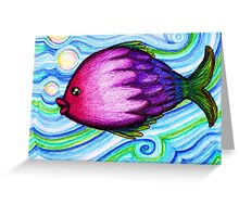 F is for Fish Greeting Card