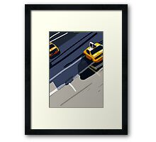 Taxis No. 1 from the Migration Series Framed Print