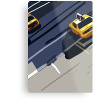 Taxis No. 1 from the Migration Series Metal Print
