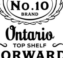 Top Shelf Whiskey (Black Text) Sticker