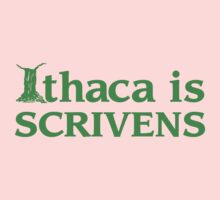 Ithaca Ivy League (GREEN TEXT) Kids Clothes
