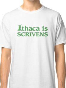 Ithaca Ivy League (GREEN TEXT) Classic T-Shirt