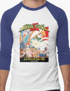 Shining Force II Japanese  Men's Baseball ¾ T-Shirt