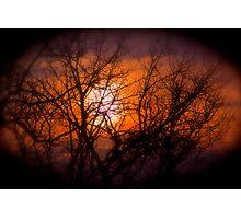Smoky Sunset  Series Photographic Print