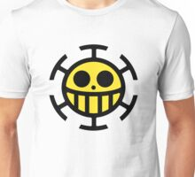 Heart Pirates Logo (Yellow Center) Unisex T-Shirt