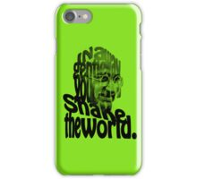 Gently Shake the World - Green Cases iPhone Case/Skin