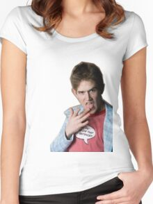 Bo Burnham Women's Fitted Scoop T-Shirt