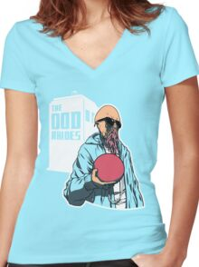 The Ood Abides Women's Fitted V-Neck T-Shirt