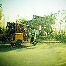 Pakistani Rickshaw by heinrich