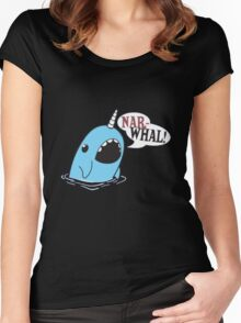Narwhal! Women's Fitted Scoop T-Shirt