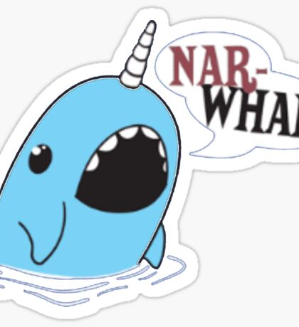 Narwhal! Sticker