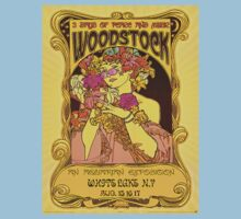 Vintage Woodstock Promo Bill T-Shirt by TrueLoveTees