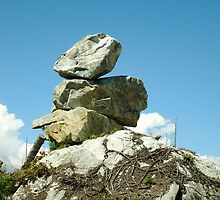 Lonely Rock Sculpture by mannb3334