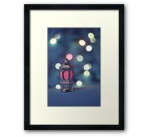 lonely Fanose Framed Print