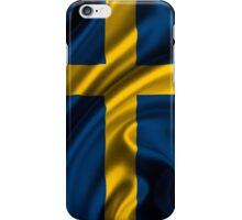 Flags of the World - Sweden iPhone Case/Skin