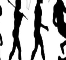 Rugby evolution Sticker