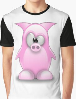 Piggy tux Graphic T-Shirt