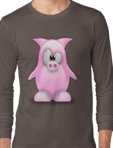 Piggy tux Long Sleeve T-Shirt