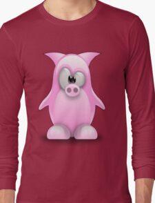 Piggy tux Long Sleeve T-Shirt
