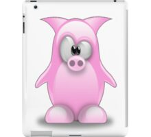Piggy tux iPad Case/Skin