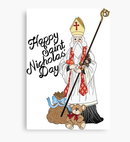 Saint Nicholas' day Canvas Print