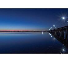 Blue lagoon. Photographic Print