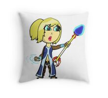 The Mage That Does Spells Throw Pillow