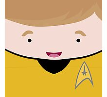 Captain James T Kirk Photographic Print