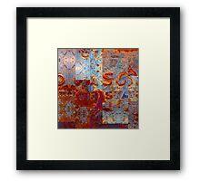 Metal Mania - No.7 Framed Print