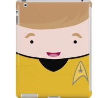 Captain James T Kirk iPad Case/Skin