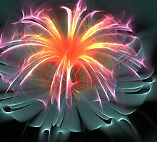 Fiber Optic Flower by 319media