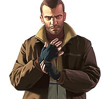 Niko Bellic by mattreptar