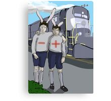 Positive and Negative from My Year as a Rabbit Canvas Print