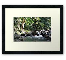 Korrumbyn Creek NSW Framed Print
