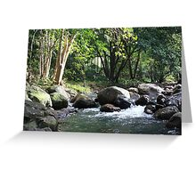 Korrumbyn Creek NSW Greeting Card