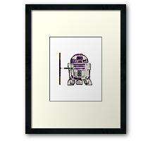 R2D2 DONATELLO Framed Print