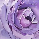 A Purple Rose by Jennifer Gibson