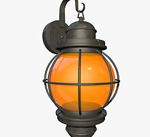 Outdoor lamp by C4Dart