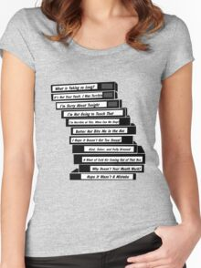 Brooklyn 99 Sex Tapes Women's Fitted Scoop T-Shirt
