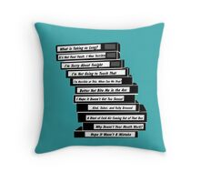 Brooklyn 99 Sex Tapes Throw Pillow
