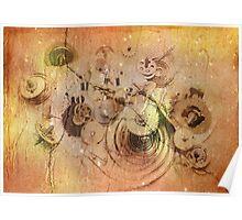 lost time - broken clockwork mechanism Poster
