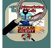 scam alert Photographic Print