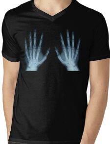 Handsy  Mens V-Neck T-Shirt