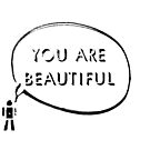 You are beautiful by DeirdreMarie