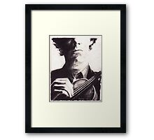 Sherlock: Master of the Violin Framed Print