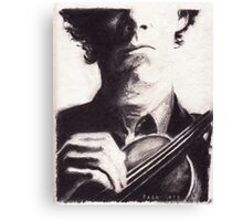 Sherlock: Master of the Violin Canvas Print