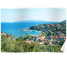 Croatia Inland Poster
