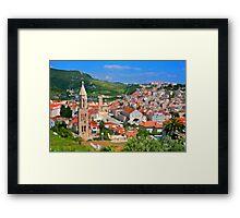 Croatia Stemple Framed Print