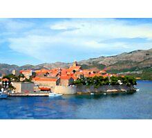 Croatia Inlet Photographic Print